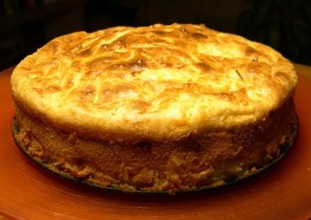 пирог с фаршем и капустой в мультиварке